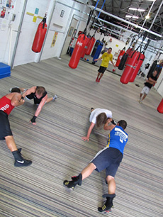 Train to compete in Boxing